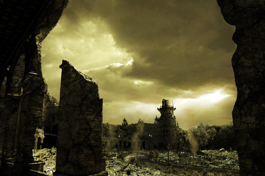 Fotomontaje de la serie: Sevilla Post-apocaliptica