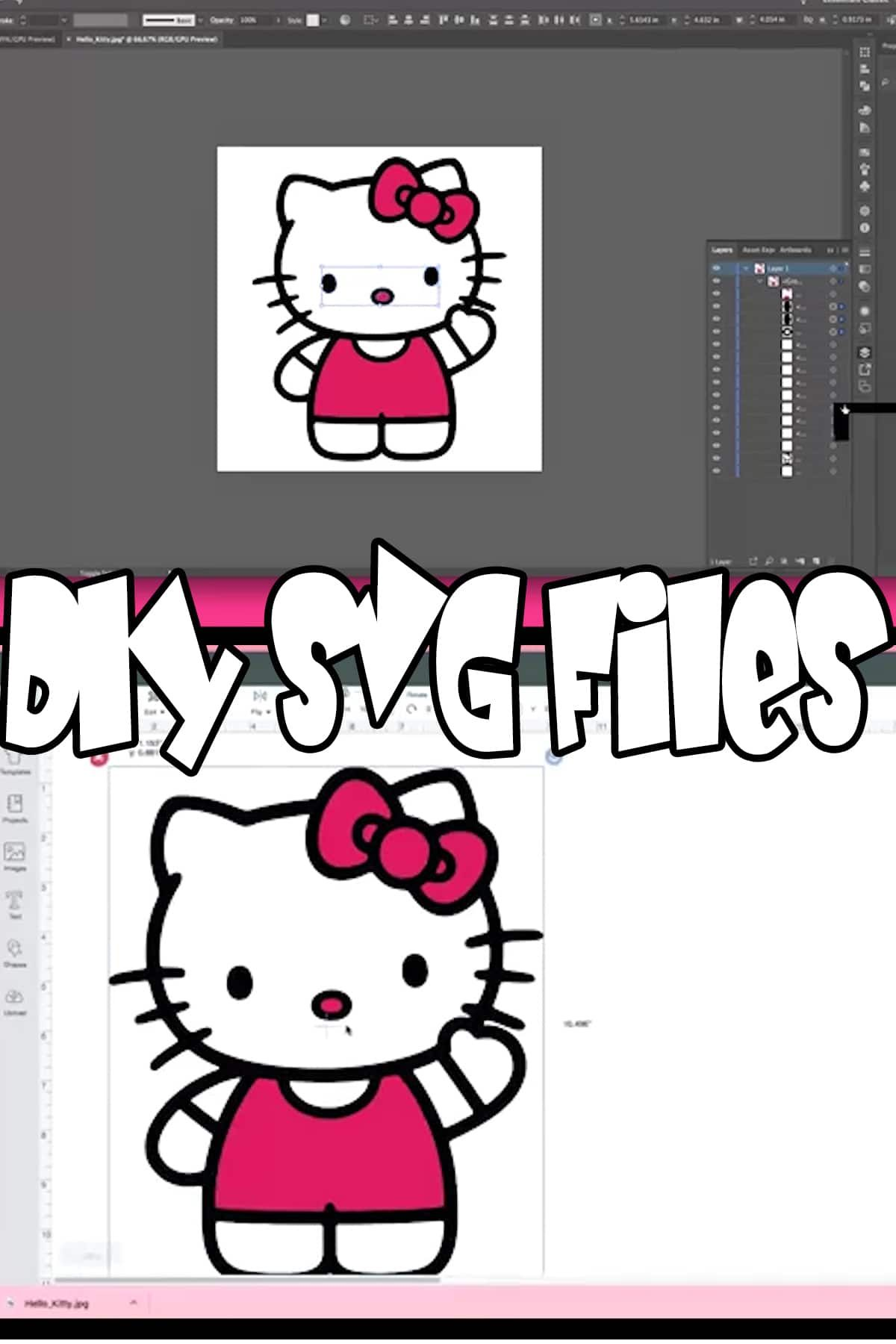 How To Make SVG Files in 2020 Cricut design, Upcycle diy