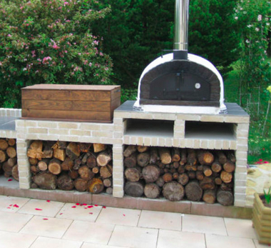 Now this is a pizza oven. It's called a Pizzaoli! www.authenticpizzaovens.com
