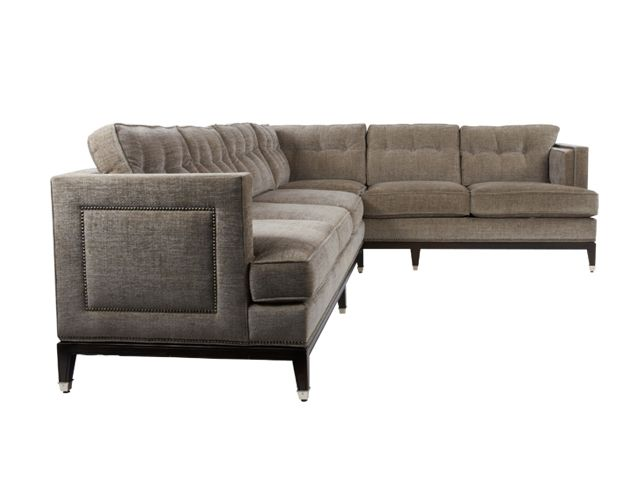 if I HAD to have a sectional:  whitaker 2-pc sectional