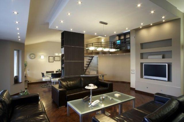 Beleuchtung im Wohnzimmer an der Zimmerdecke Home Decoration - wohnzimmer luxus design