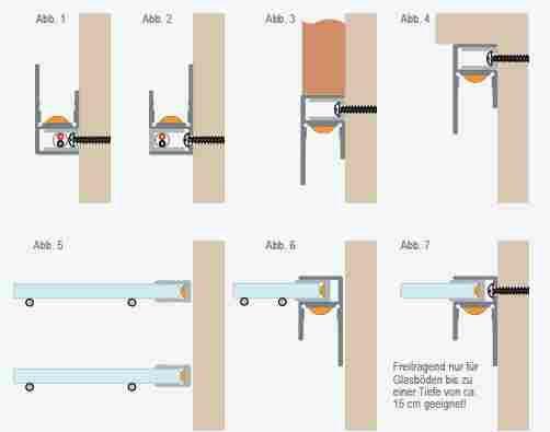 P685895 Aluminium wand/glas-profiel 1m voor ledstrips - Profiel voor ...