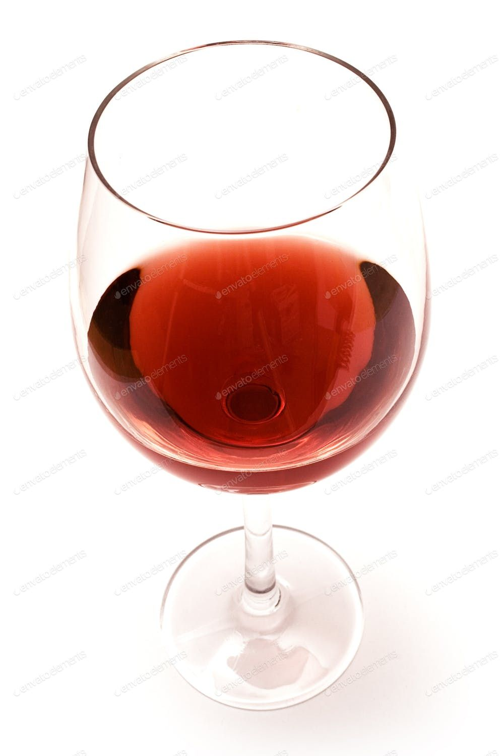 Glass Of Red Wine Isolated On A White Background Photo By Mnmlst0 On Envato Elements Red Wine Wine Glass