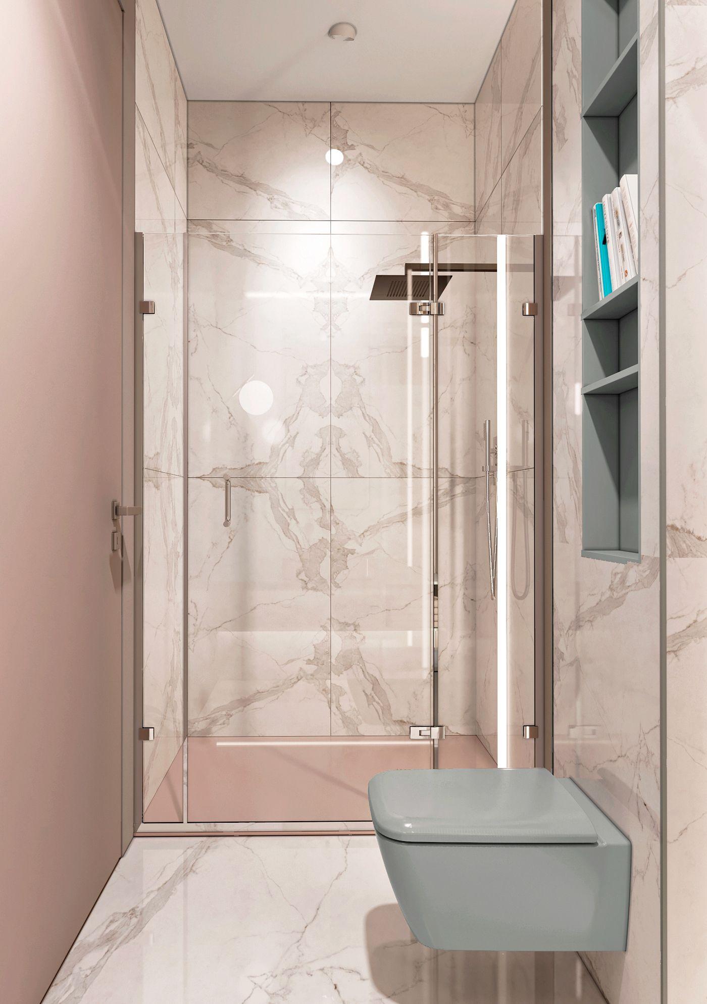 Salle De Bain Washroom ~ donskoye podvor ye on behance so loving the pink tones in this