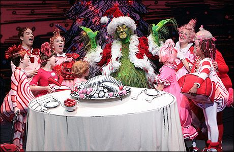 Scene from Dr. Suess' How The Grinch Stole Christmas! The Musical ...