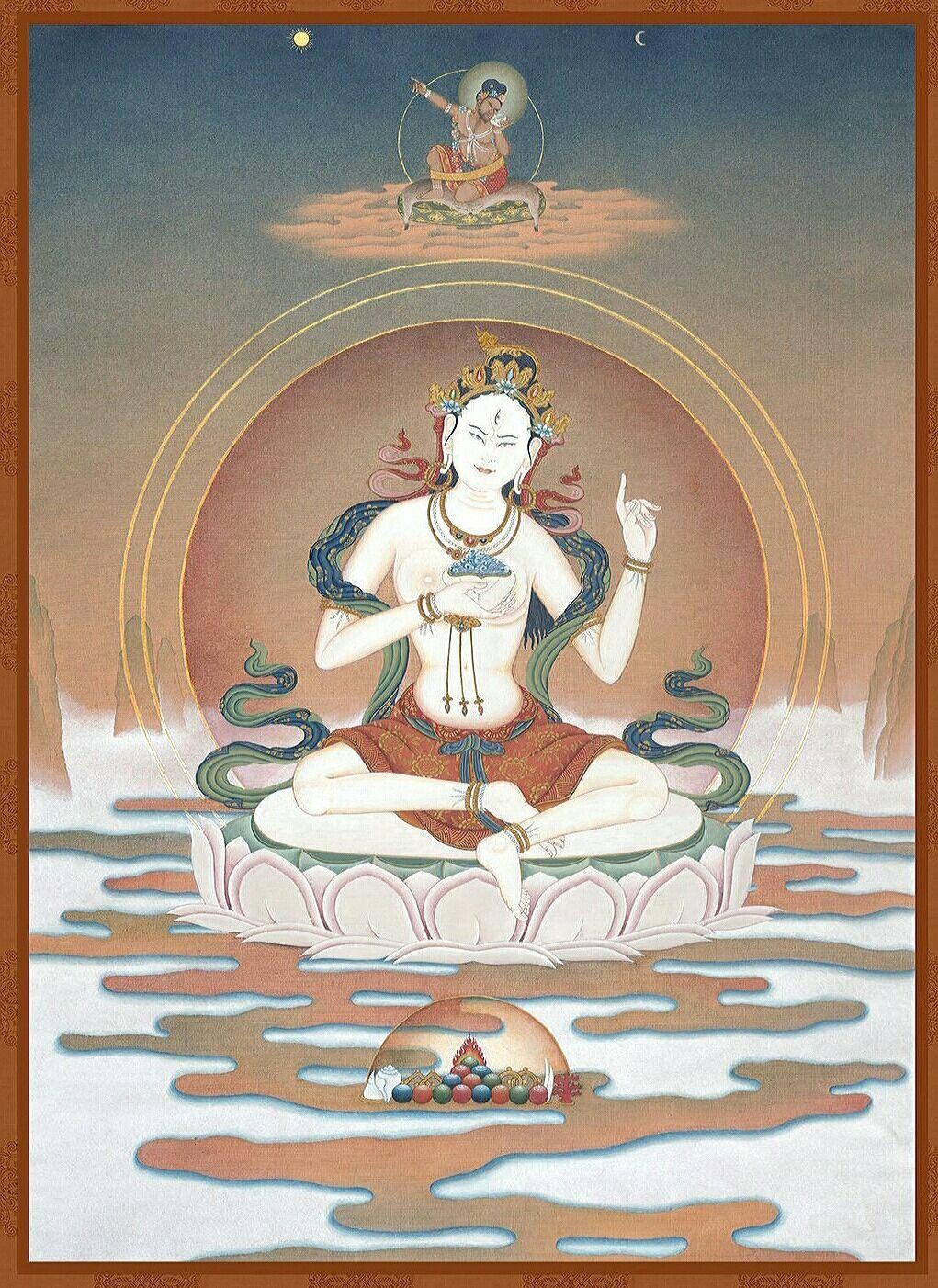 Sukhasiddhi | Thangka in 2019 | Tibetan art, Buddha art