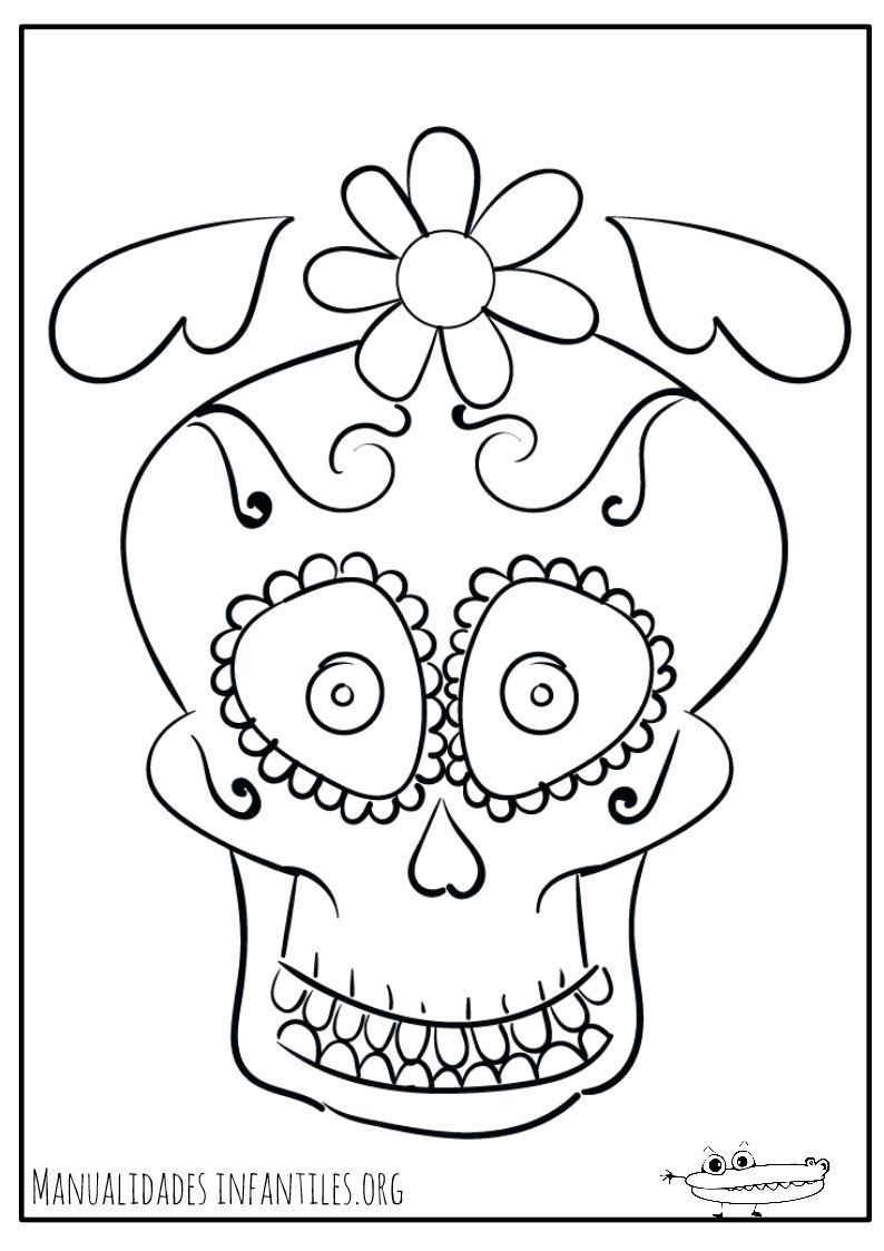 Mascara-de-calavera-dia-de-muertos-para-colorear.jpg (Imagen JPEG ...
