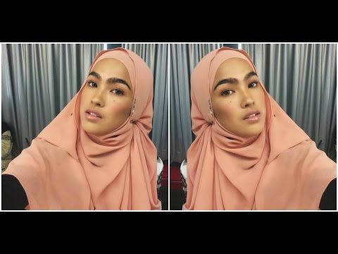 Tutorial Shawl Terkini Ala Elfira Loy Youtube Hijabista