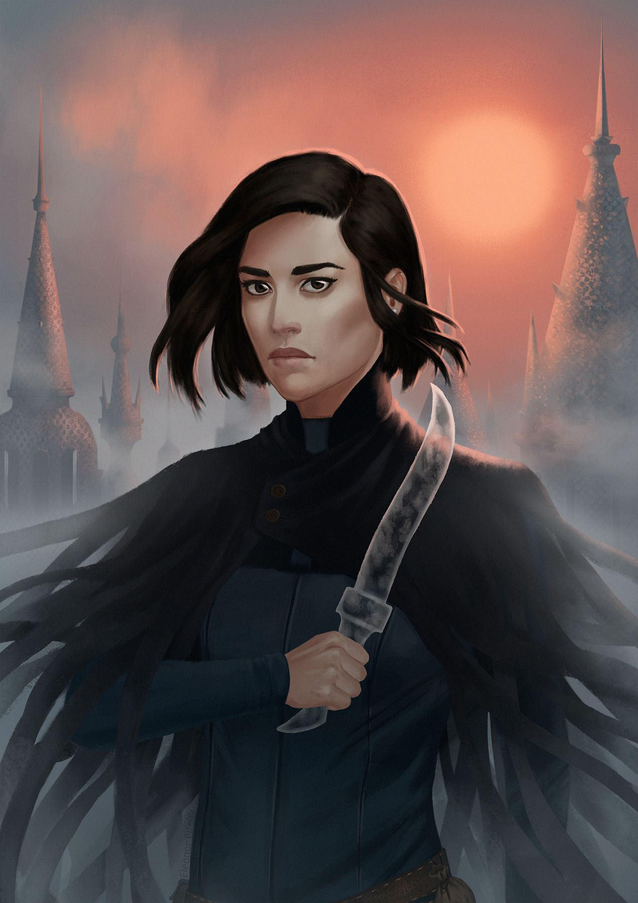 """Vin, from the Mistborn trilogy (x) """" I'm currently reading these wonderful  books and I heartily recommend… 