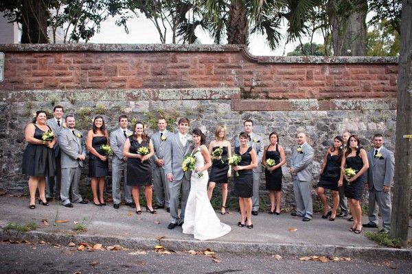Real Weddings: Ashley   Chadwick | Grey weddings and Weddings