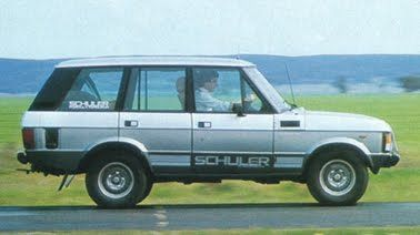 Range Rover Australia - Range Rover Classic Australian Range Rover Schuler FFRR 5000 profile with flairs and badges