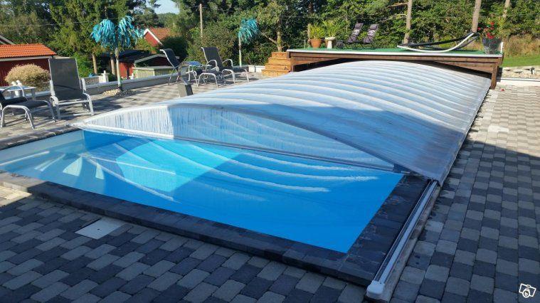 Zabra Pooltäckning Vintertäckning Pooltak Kalmar Trädgård - schwimmbad selber bauen