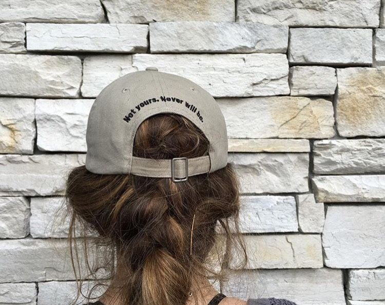 """Not Yours. Never Will Be."" Hat"