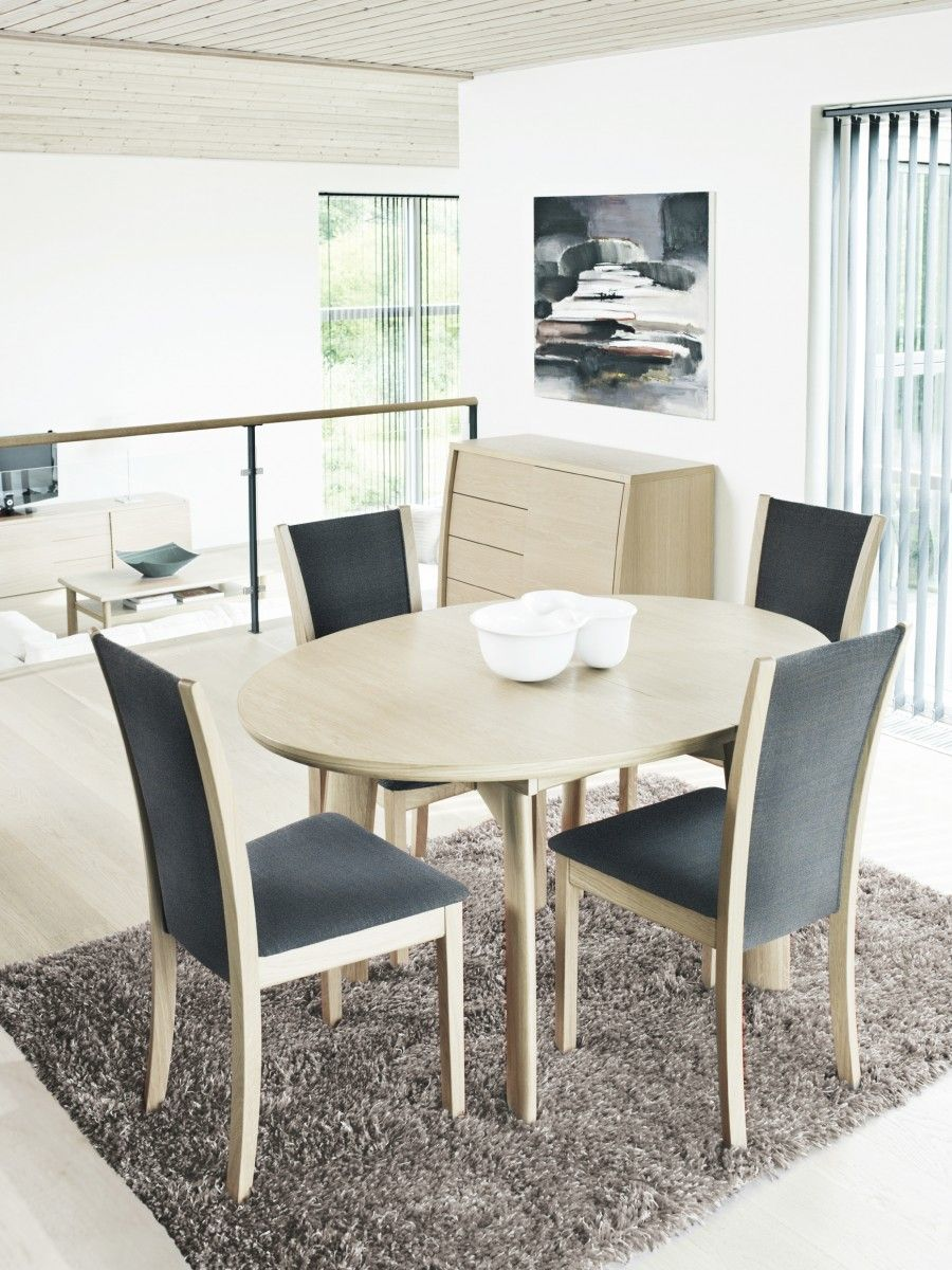 "Contemporary Chairs For Dining Room Unique Patented Dining Table Skovby # 70 With ""popup"" Mode With Room For Decorating Design"