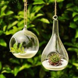 Meubles Hanging Glass Terrarium Hanging Vases Hanging Terrarium