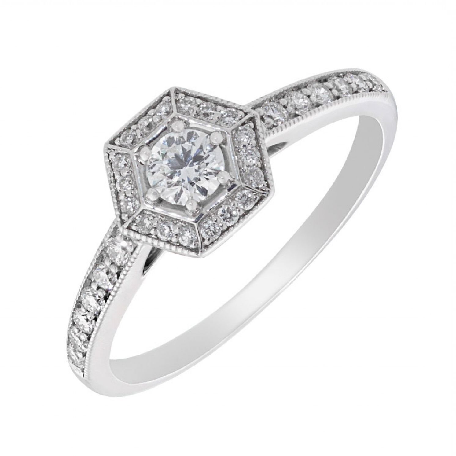 with gold weight p cut carat halo white set ring in brilliant rings shoulders total diamond