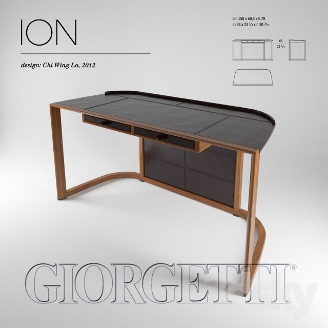 ION 2012 Chi Wing Lo Gold furniture, Table