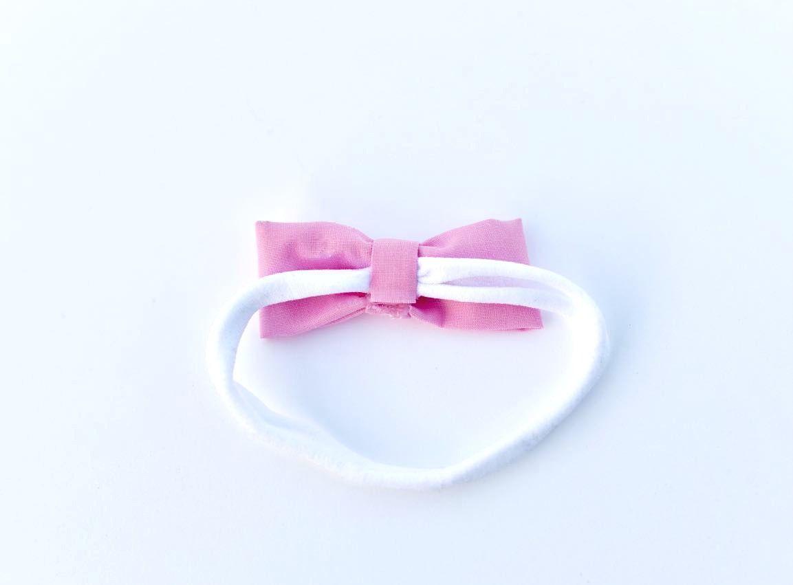 Easy no sew hair bow headbands tutorial making hair bows