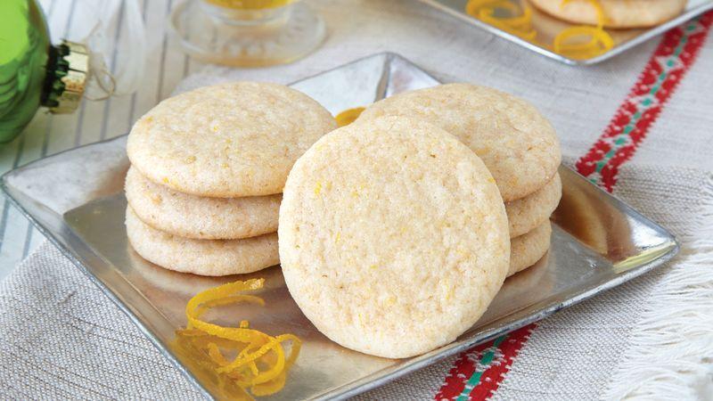 Honey Orange Ginger Cookies