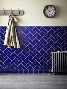Minton Hollins Victorian Blue