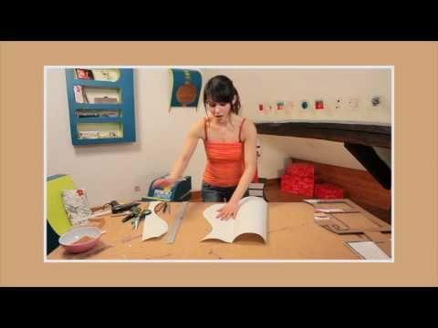 Chaine Youtube Isabelle Gieling Tuto Fabrication De Meubles En Carton Comment Creer Un Dessin Symetriqu Meuble En Carton Mobilier De Salon Et Mobilier En Carton