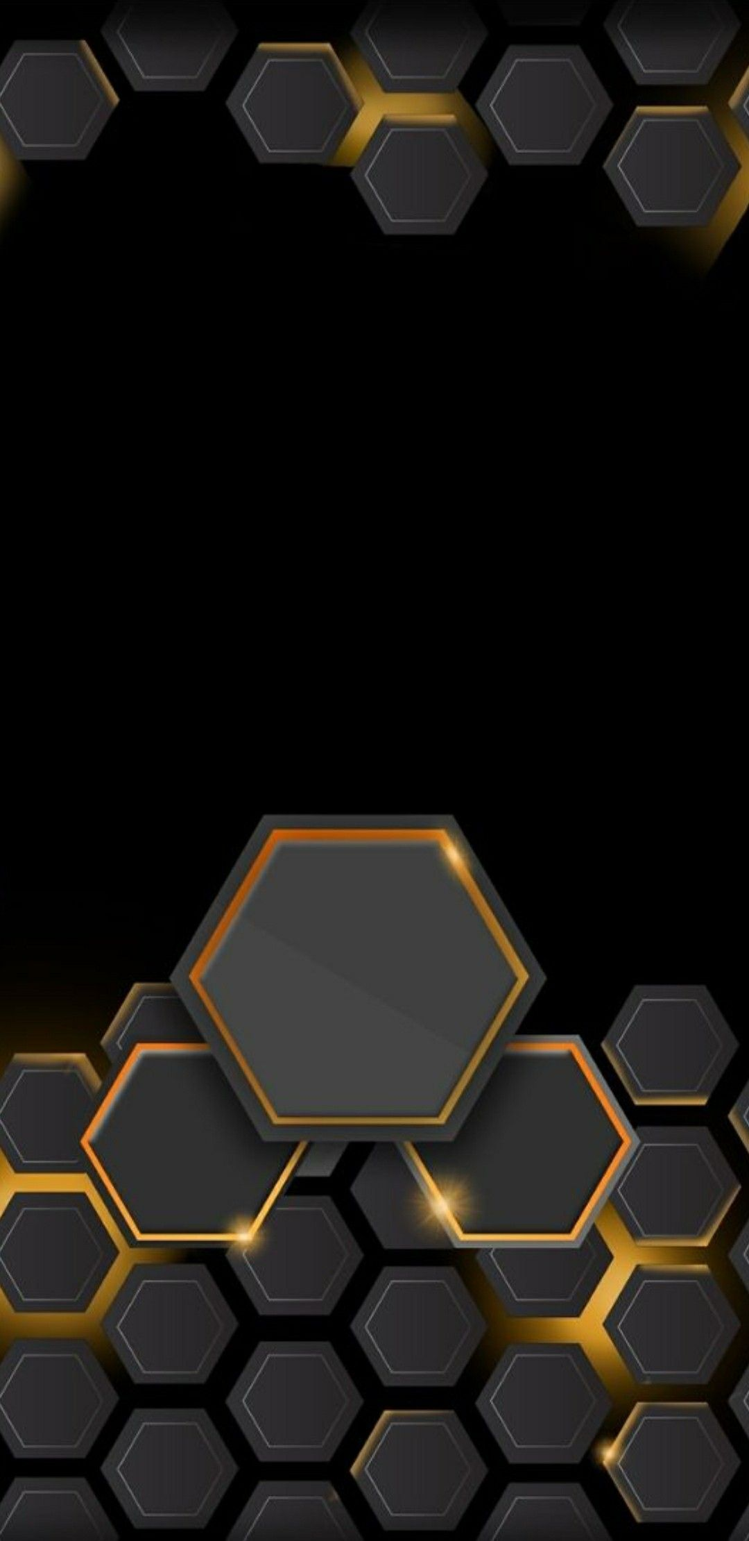 3d Hexagons Hexagon Cellphone Wallpaper Art Wallpaper