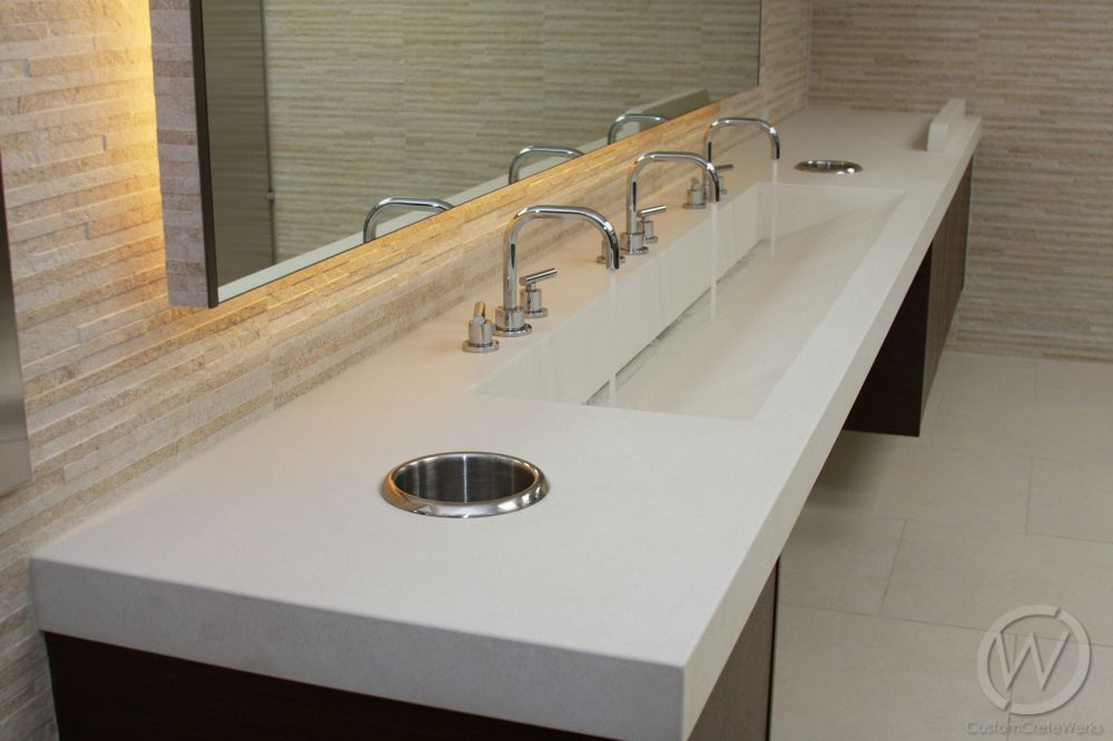 trough sink bathroom - Google Search | Bathroom | Pinterest | Trough ...