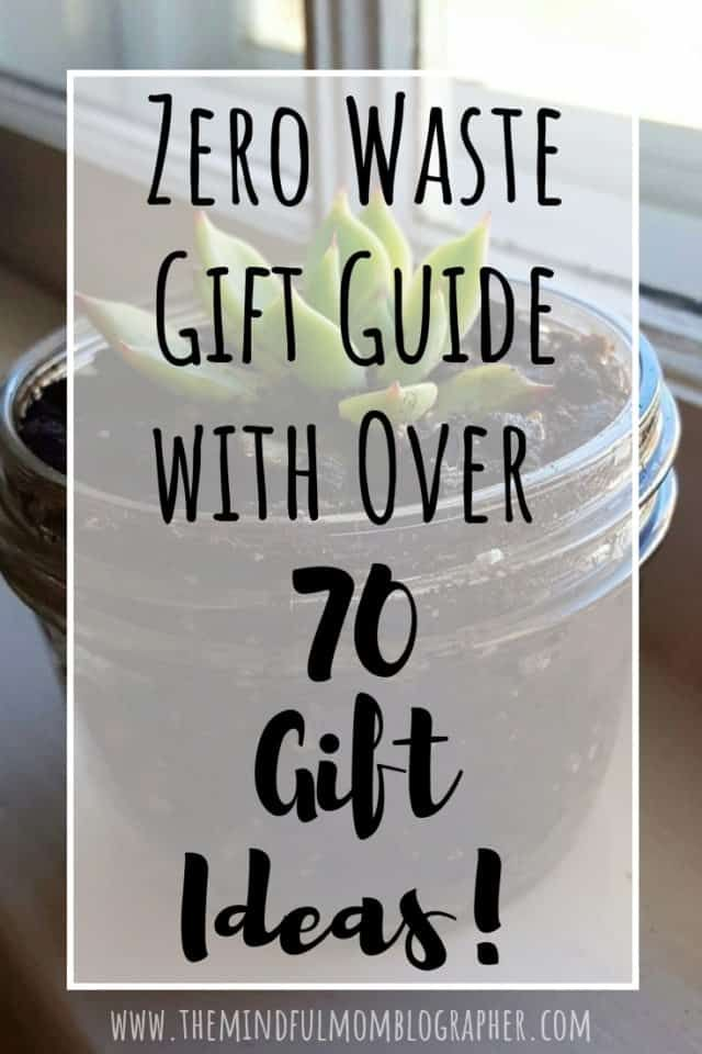 Zero Waste Gift Guide With Over 70 Gift Ideas Xmas