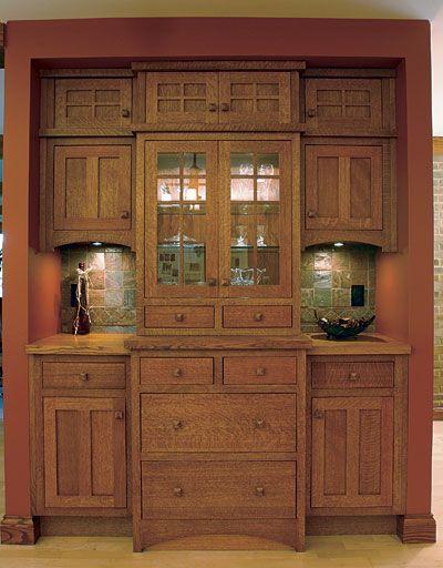 A Handle On The Trade An Interview With Rex Alexander Craftsman Furniture Craftsman Interior Craftsman Kitchen