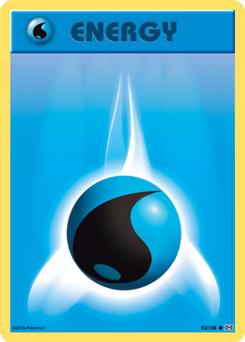 Basic Water Energy Pokemon Tcg Water Energy Pokemon