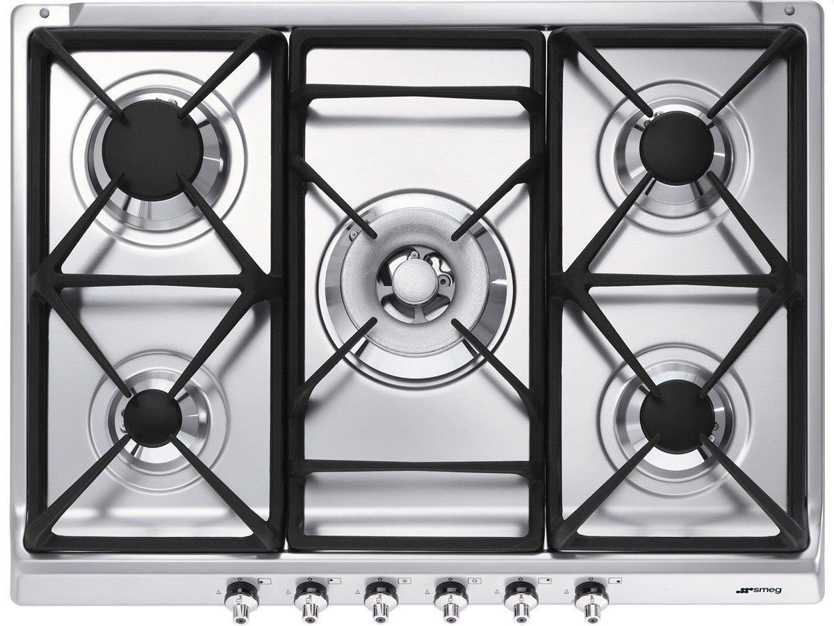 buy smeg gas hob stainless steel from our hobs range at john lewis