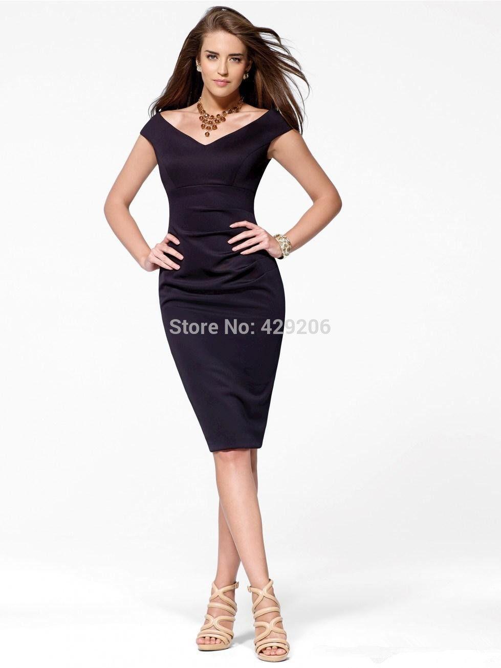 Elegant Designer Purple/Blue V Neck Cocktail Dresses Mermaid Cheap ...