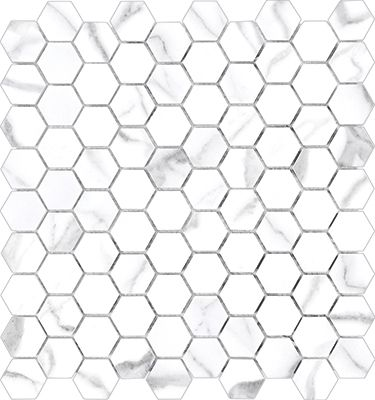 Anatolia Tile \ Stone Inc  Mayfair HD Porcelain Tile - hexagon graph paper