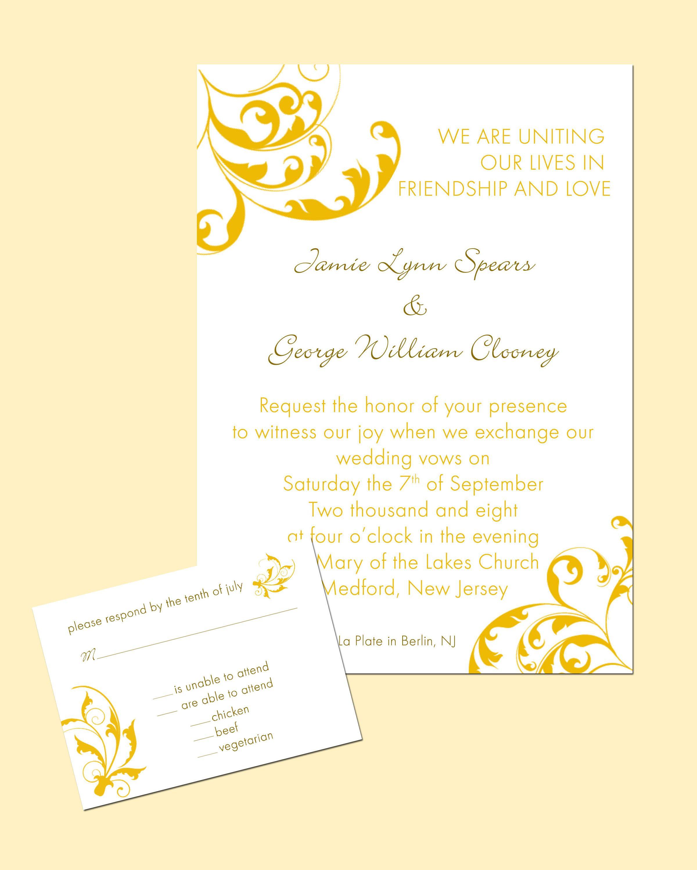 Wedding Invitation Card Design | Wedding Invitations | Pinterest ...