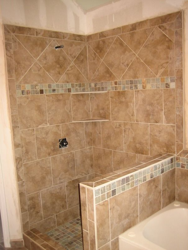 Shower-Pony Wall-Tub Surround 9-2008 | Pinterest | Tile showers ...