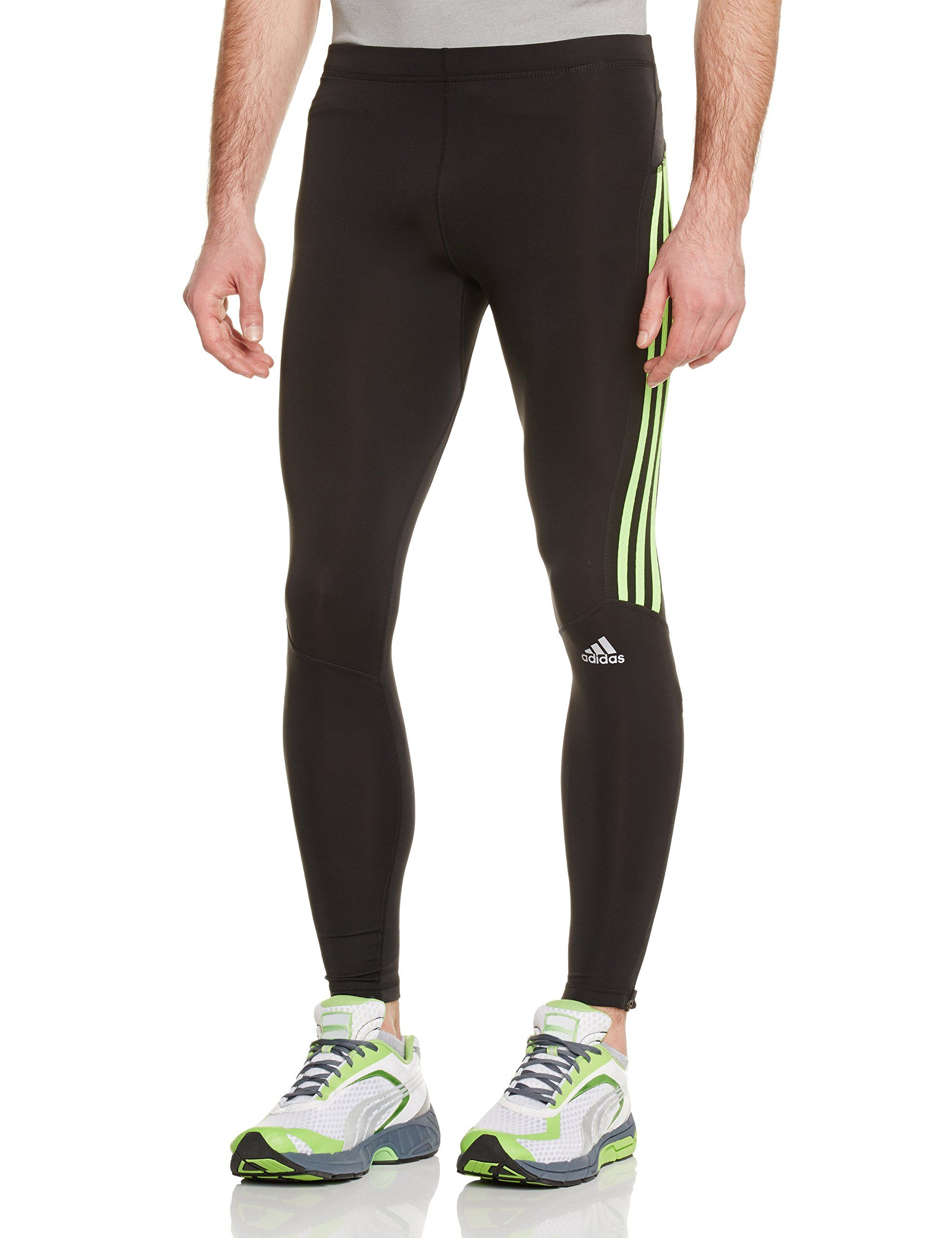 74161dc529b38 adidas Men's Response Long Tight: Amazon.co.uk: Sports & Outdoors ...