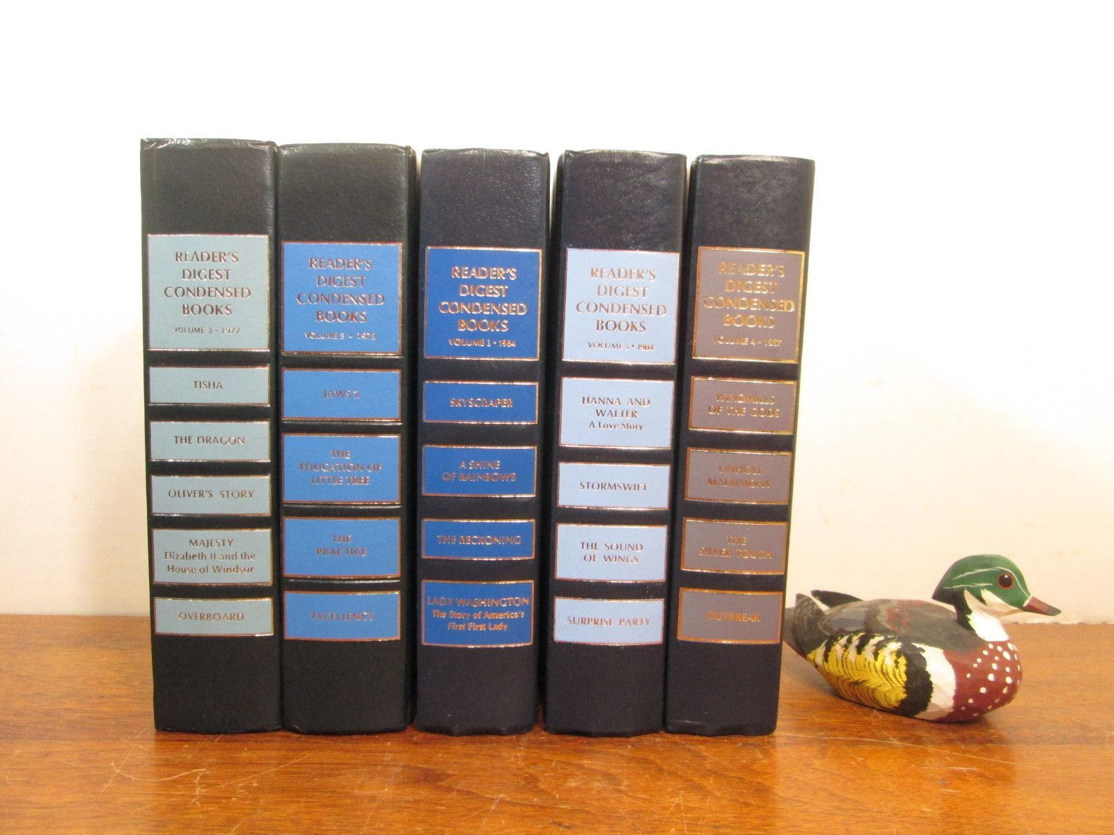 Vintage Blue Book Stack, Blue Books, Book Shelf Decor | Products