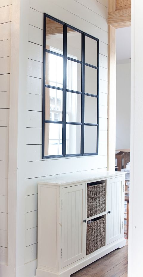 Diy Window Pane Mirror Tutorial The Lettered Cottage Window