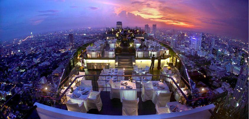Vertigo Moon Bar - Banyan Tree Hotel, Bangkok, Thailand