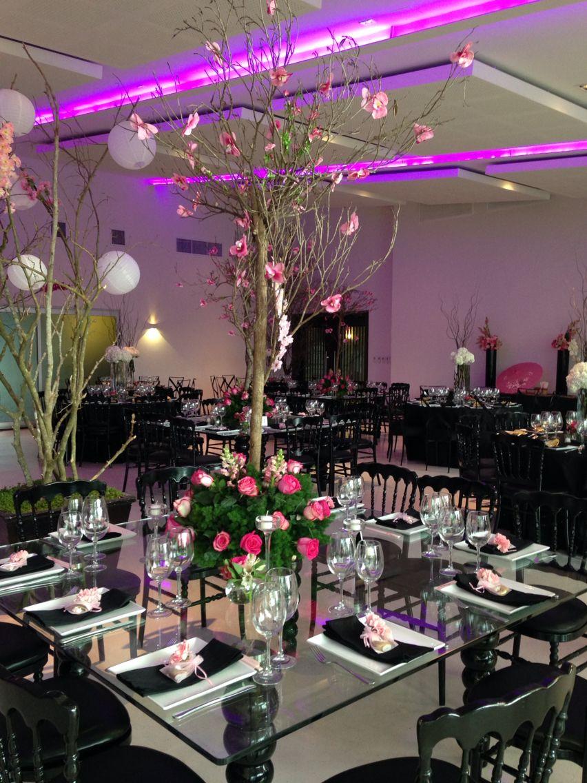 Centros de mesas para bodas en rboles de charamicos for Arboles de decoracion