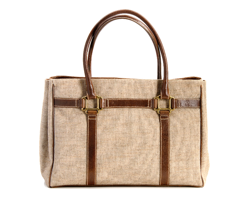 The Field Tote... Equestrian tweed loomed in Italy trimmed with Saddle Buffalo and Bronze halter squares Oughton Limited Equestrian Accessories