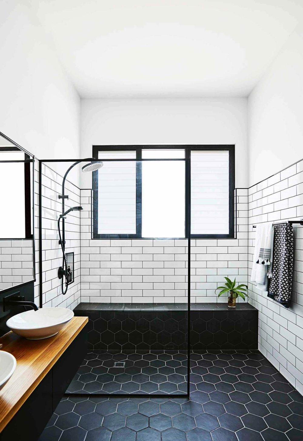 15 Stunning Walk In Shower Ideas To Revamp Your Bathroom With In 2020 Modern Bathroom Tile Small Bathroom Makeover Bathrooms Remodel