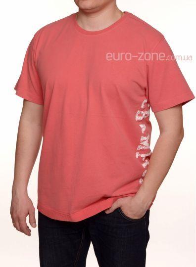 3cd635f33c70f Стильная мужская футболка Blend, коралловая. euro-zone.com.ua ...