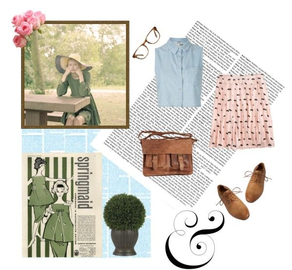 """Springtime"" by crazzzychevron ❤ liked on Polyvore"
