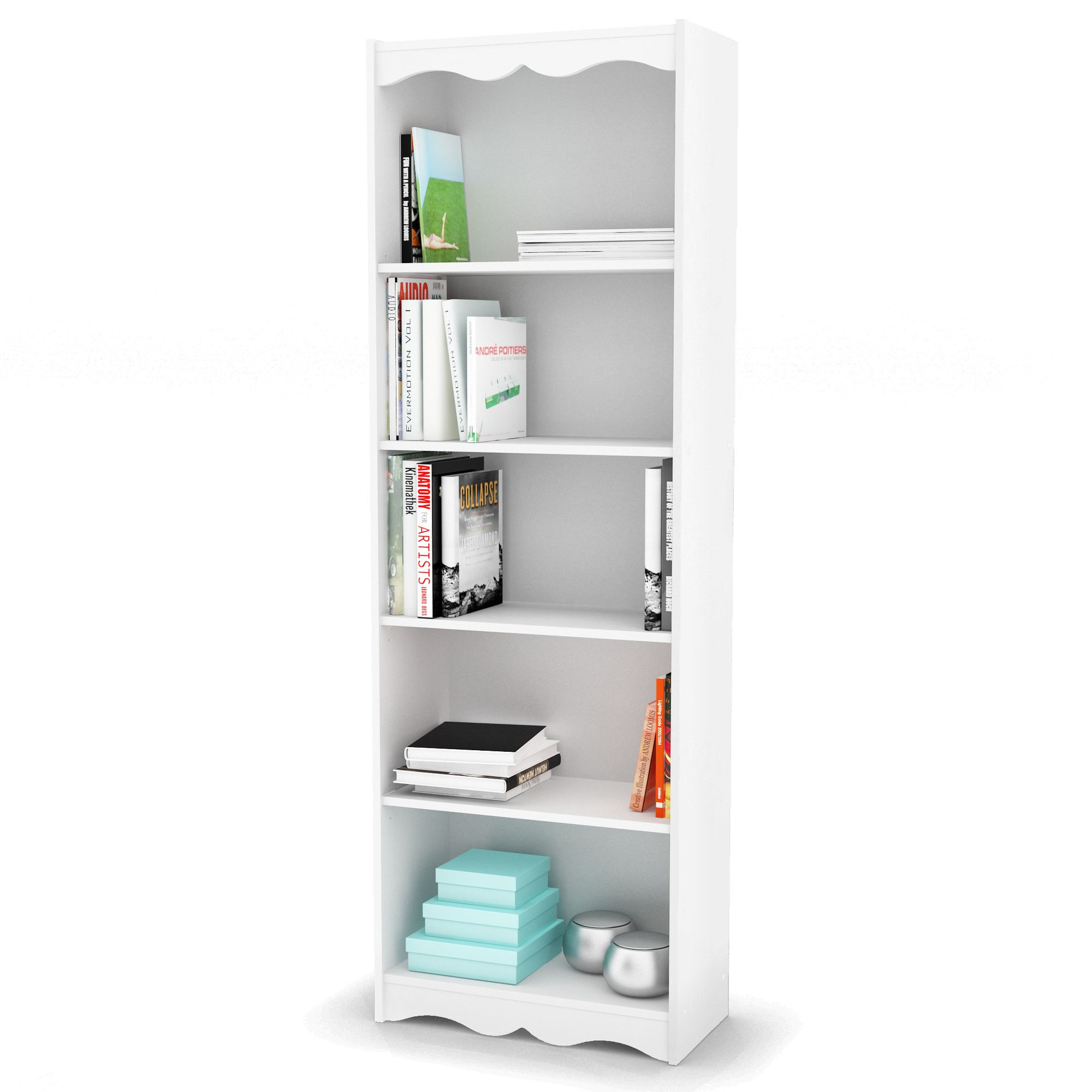 shore multiple walmart finishes bookcase com axess collection smart shelf south ip basics