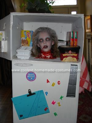 coolest homemade head in a freezer halloween costume - Child Halloween Costumes Homemade