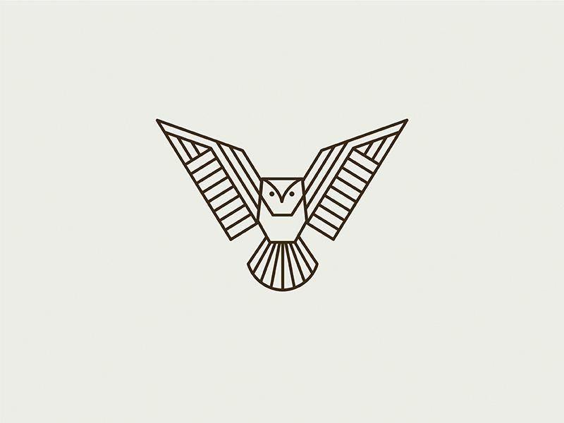 Geometric Owl by Kari Neuberger #Design Popular #Dribbble #shots ...
