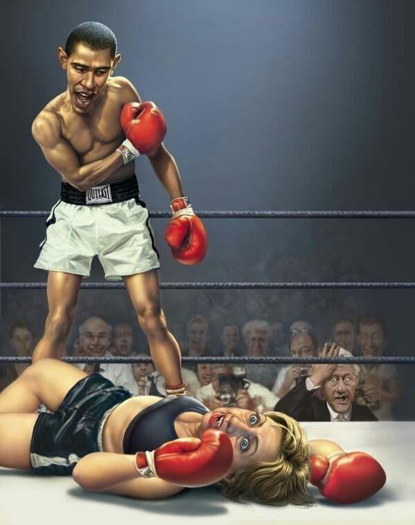 Смешные рисунки в боксе