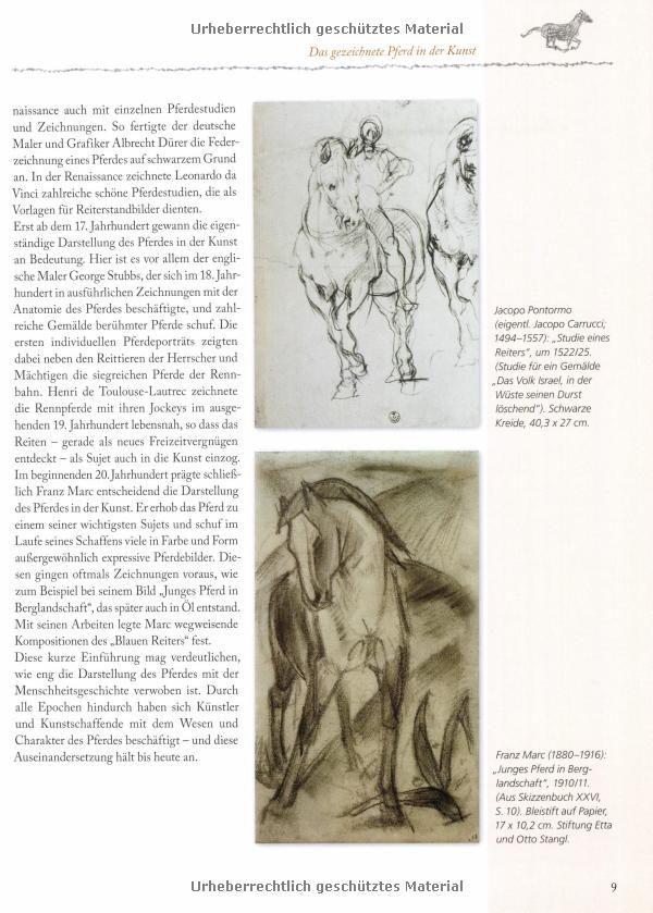 Zeichnen - Pferde: Ausdruck und Persönlichkeit Workshop: Amazon.de ...