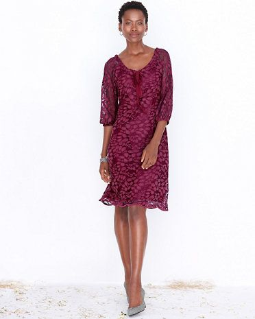 Garnet hill long black dress
